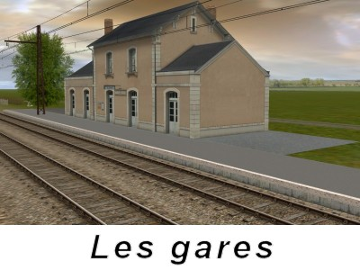 Les gares
