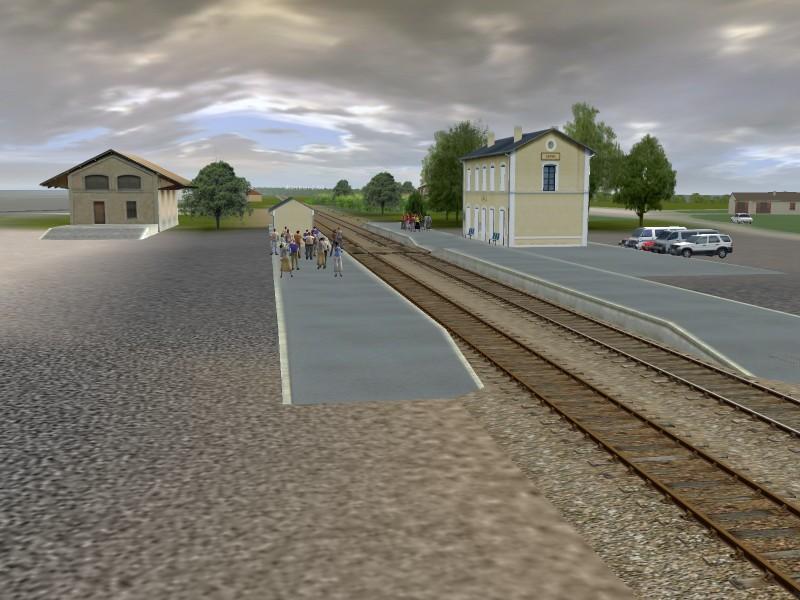 Gare de Lalinde
