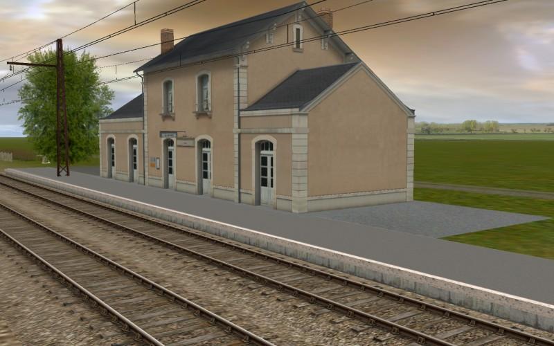 Gare de Lussac