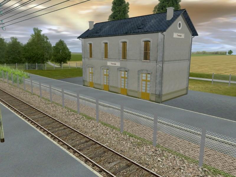 Gare de Tremolat