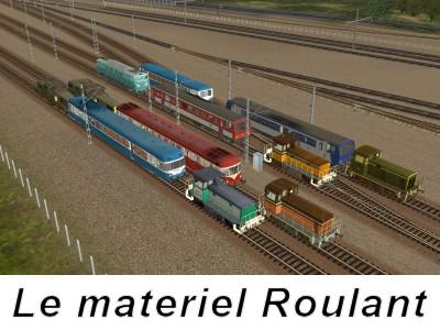 Le matériel roulant