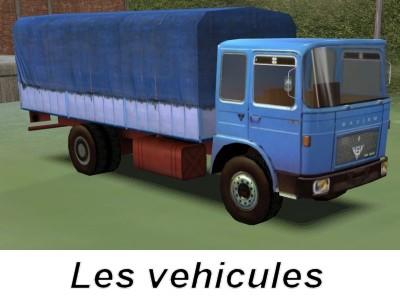 Les vehicules routiers
